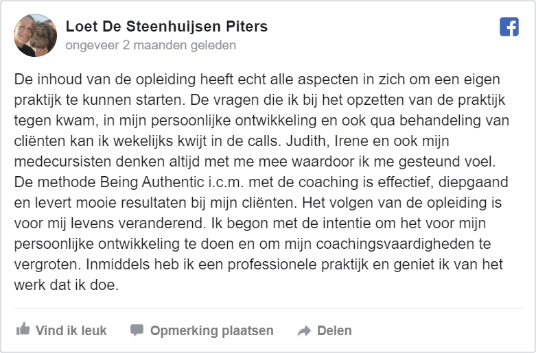 Review Loet de Steenhuijsen Piters